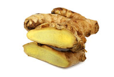 Sliced Ginger Stock Photography