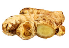 Sliced Ginger Stock Photo