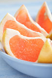 Sliced grapefruit Stock Photos
