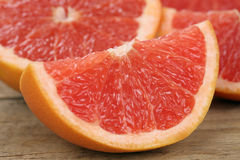 Sliced grapefruit fruits Stock Photography