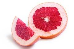 Sliced grapefruit Stock Photo