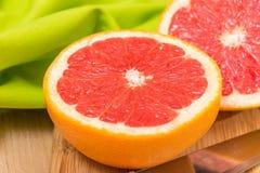 Sliced Grapefruit Royalty Free Stock Photos