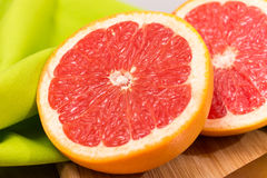 Sliced Grapefruit Royalty Free Stock Images