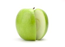 Free Sliced Green Apple Stock Photo - 1992120