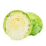 Sliced Green Cabbage Stock Images