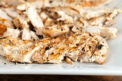Sliced Grilled Chicken Breast Royalty Free Stock Images