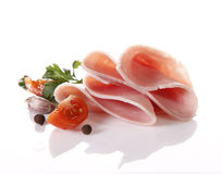 Sliced ham Stock Images