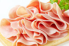 Sliced ham Royalty Free Stock Photography