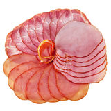 Sliced ham and tenderloin. Stock Photography
