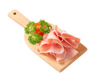 Sliced ham Stock Images