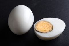 Sliced hard - boiled egg Royalty Free Stock Photos