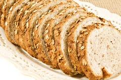 Sliced healthy fresh wholegrain bread Stock Photo