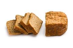 Sliced homemade whole wheat bread Stock Photo