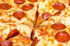Free Sliced Hot Pizza Royalty Free Stock Photo - 27799815