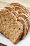 Sliced Irish wheaten bread Stock Image