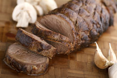 Sliced Juicy Beef TeNderloin Stock Image