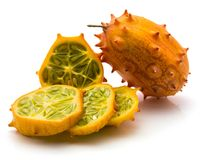 Kiwano melano isolated Stock Photography