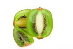 Sliced kiwi stock images