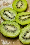 Sliced kiwi Royalty Free Stock Photo