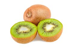 Sliced kiwi Royalty Free Stock Images