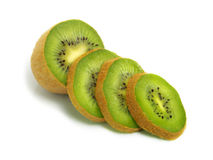 Sliced Kiwi Stock Photo