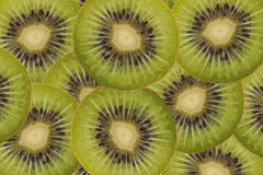 Sliced Kiwi Royalty Free Stock Photos