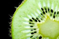 Sliced kiwi fruit Stock Images