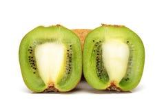 Sliced kiwi fruit Stock Photo