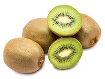 Kiwi fruit isolated Stock Image