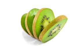 Sliced Kiwi Fruit. Close-up of Kiwi fruit cut into slices Royalty Free Stock Image