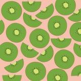 Sliced kiwi fruit Stock Image