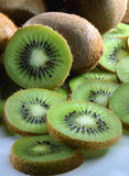 Sliced kiwi fruit. Royalty Free Stock Photography