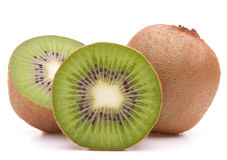 Sliced kiwi fruit half Royalty Free Stock Photo