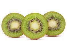 Sliced kiwi fruit half Royalty Free Stock Image