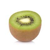 Sliced kiwi fruit isolated on white background Stock Photo