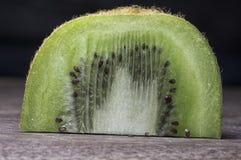 Sliced Kiwi Fruit Macro On Cutting Board Royalty Free Stock Photo