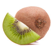 Sliced kiwi fruit segment Royalty Free Stock Photo
