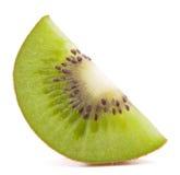 Sliced kiwi fruit segment Stock Photos