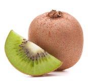 Sliced kiwi fruit segment Royalty Free Stock Image