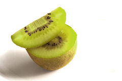 Sliced kiwi fruit Royalty Free Stock Image