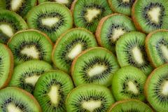 Sliced Kiwi Fruits Stock Photo