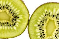 Sliced kiwi Stock Photography