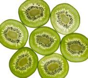 Sliced Kiwifruit Royalty Free Stock Photography