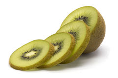 Sliced kiwifruit stock photo