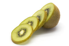 Sliced kiwifruit royalty free stock photography