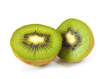 Sliced Kiwis royalty free stock images