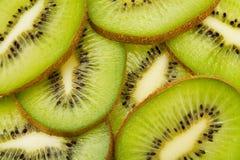 Sliced kiwis Stock Photo