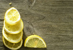 Sliced lemon background Royalty Free Stock Photo