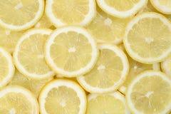 Sliced lemon background Royalty Free Stock Photo