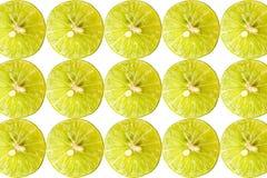 Sliced lemon Royalty Free Stock Photography